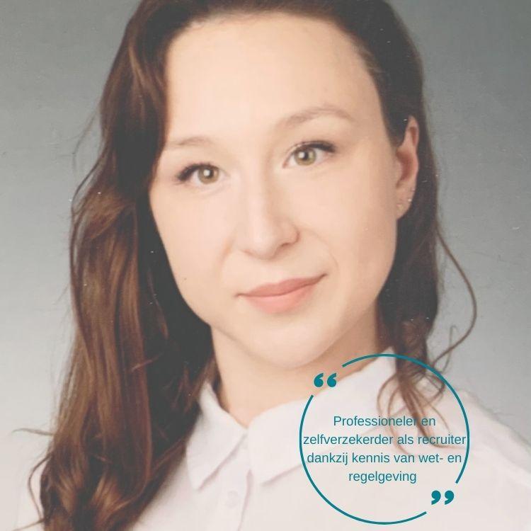 Monika Szopinska, Carriere Uitzendbureau